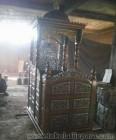 Mimbar Masjid Ukir Kayu Jati TJJ01