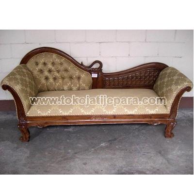 Sofa Bangku Jati TJJ01