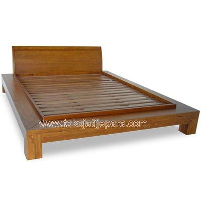 Bed Solid Jati TJJ11