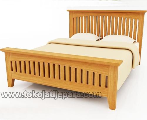 Dipan Jati TJJ02 Tempat Tidur Minimalis