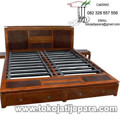 Dipan Tempat Tidur Minimalis TJJ08