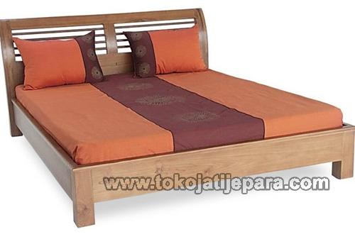 Dipan Tempat Tidur Minimalis TJJ12 Dipan Jepara Minimalis