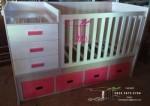 Box Tempat Tidur Bayi Menawan Buatan Toko Jati Jepara TJJ085