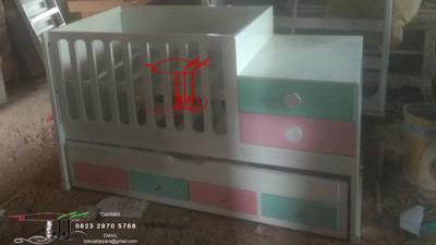Box Tempat Tidur Bayi Unik Dari Toko Jati Jepara