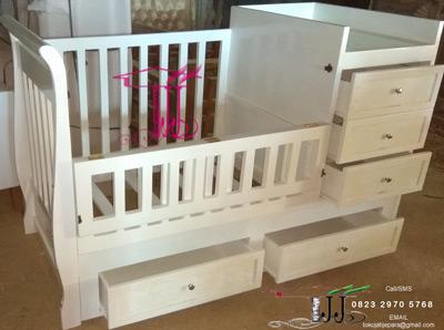 Box Ranjang Bayi Elegan Buatan Toko Jati Jepara