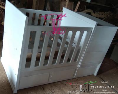 Ranjang Bayi Elegan Dari Toko Jati Jepara