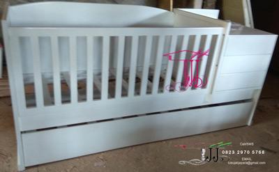 Tempat Tidur Bayi Rupawan Dari Toko Jati Jepara
