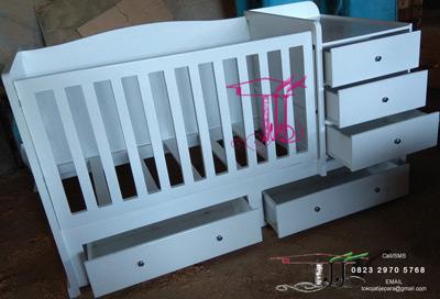 Tempat Tidur Bayi Cantik Produk Toko Jati Jepara