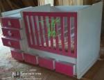 Tempat Tidur Bayi Indah Buatan Toko Jati Jepara TJJ081