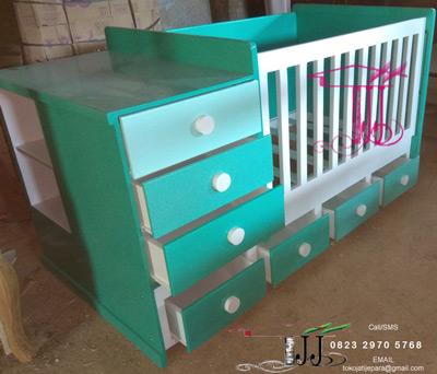 Tempat Tidur Bayi Menarik Dari Toko Jati Jepara
