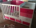 Tempat Tidur Bayi Rupawan Buatan Toko Jati Jepara TJJ083
