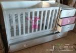 Ranjang Bayi Artistik Produk Toko Jati Jepara TJJ060
